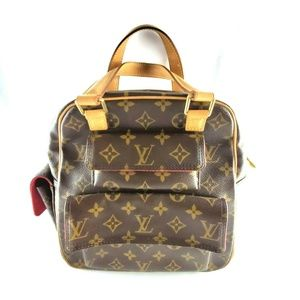 Louis Vuitton Monogram Excentri-Cite Satchel Purse